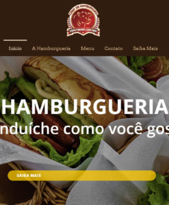 sites para hamburgueria